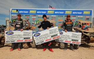 SXS Pro Stock first through 3rd place winners