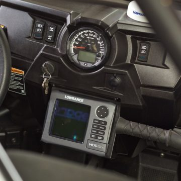 GPS Mount | RZR XP1000 RZR900 | Holz Racing Products